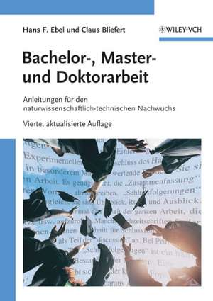 Bachelor-, Master- und Doktorarbeit