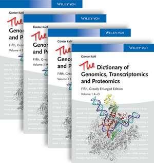 The Dictionary of Genomics, Transcriptomics and Proteomics