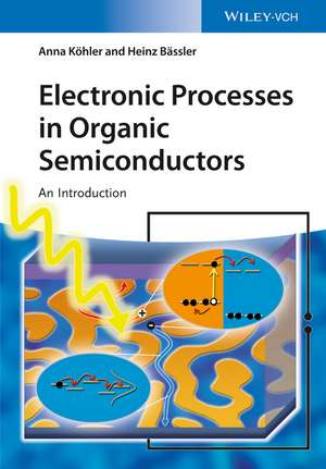 Electronic Processes in Organic Semiconductors