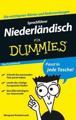 Sprachfuehrer Niederlaendisch fuer Dummies Das Pocketbuch