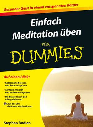 So leicht geht Meditation für Dummies