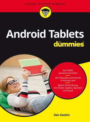 Android Tablets für Dummies de Dan Gookin