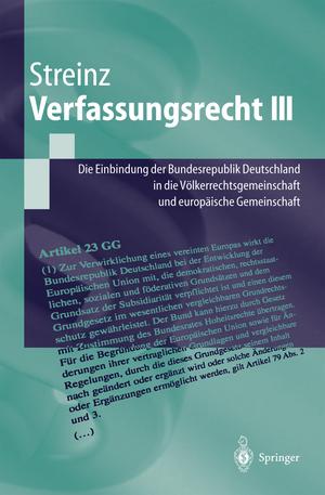 Verfassungsrecht III