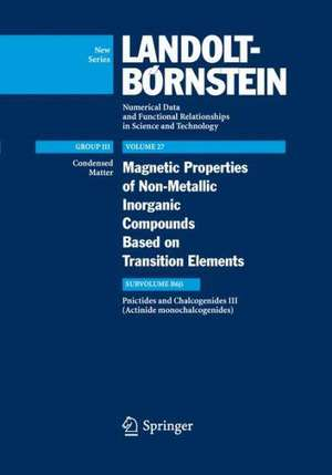 Actinide monochalcogenides de Robert Troc