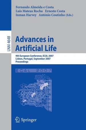 Advances in Artificial Life: 9th European Conference, ECAL 2007, Lisbon, Portugal, September 10-14, 2007, Proceedings de Fernando Almeida e Costa