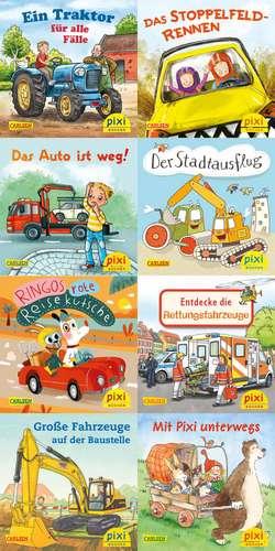 Pixi-Serie Nr. 247: Pixis bunte Fahrzeuge (8x8 Exemplare)