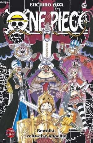 One Piece 47. Bewölkt, zeitweise knochig de Eiichiro Oda