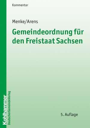 Gemeindeordnung fuer den Freistaat Sachsen