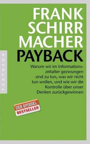 Payback de Frank Schirrmacher
