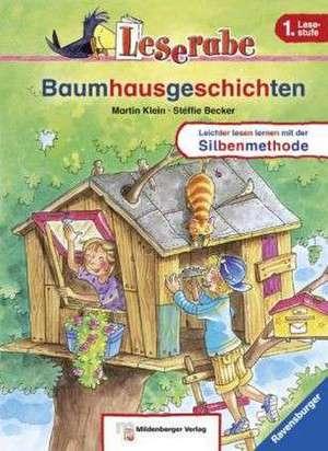 Leserabe – Baumhausgeschichten de Martin Klein