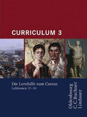 Curriculum 3. Lernjahr