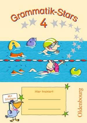 Grammatik-Stars 4. Schuljahr. UEbungsheft