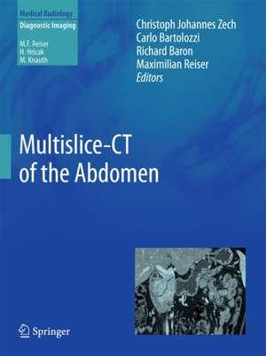 Multislice-CT of the Abdomen