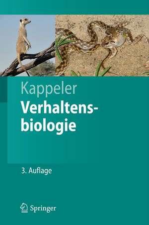 Verhaltensbiologie de Peter M. Kappeler