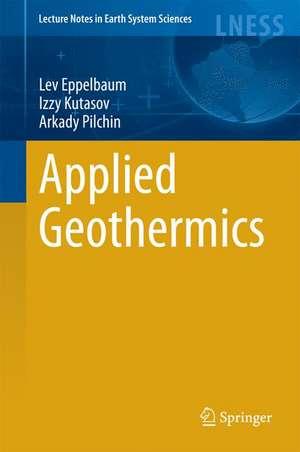 Applied Geothermics de Lev Eppelbaum