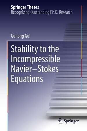 Stability to the Incompressible Navier-Stokes Equations de Guilong Gui