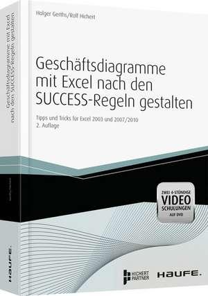 Geschäftsdiagramme mit Excel nach den SUCCESS-Regeln gestalten de Holger Gerths