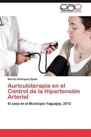 Auriculoterapia En El Control de La Hipertension Arterial