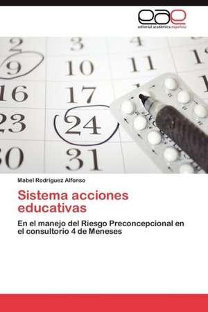 Sistema Acciones Educativas