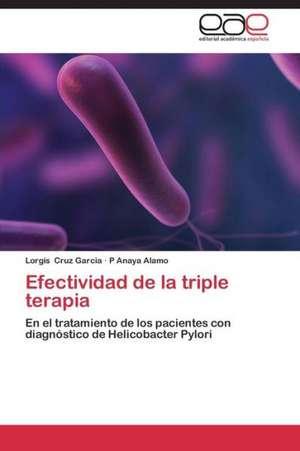Efectividad de la triple terapia
