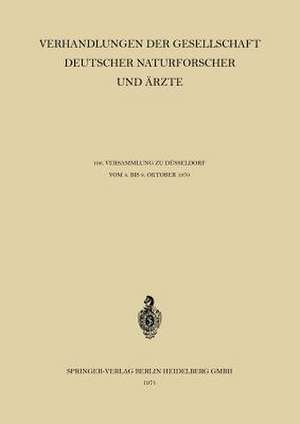Verhandlungen der Gesellschaft Deutscher Naturforscher und AErzte