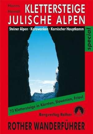 Klettersteige Julische Alpen, Steiner Alpen, Karawanken und Karnischer Hauptkamm