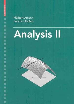 Analysis II de Herbert Amann