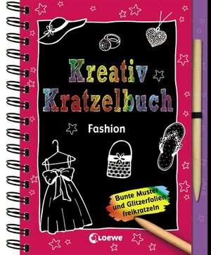 Kreativ-Kratzelbuch: Fashion