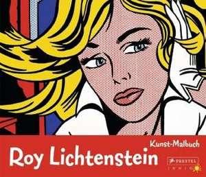 Kunst-Malbuch: Roy Lichtenstein de Sabine Tauber