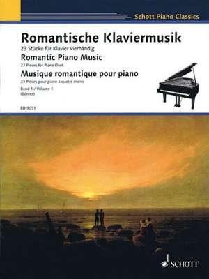 Romantic Piano Music - Volume 1:  23 Pieces for Piano Duet de Klaus Börner