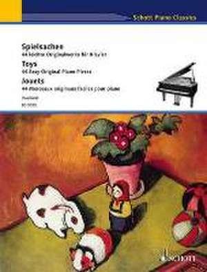 Spielsachen. 44 leichte Originalwerke für Klavier de Monika Twelsiek