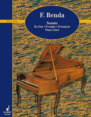 6 Sonatas:  From the School of Ragtime de Georg Benda