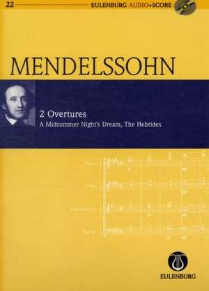 2 Ouvertüren de Felix Mendelssohn Bartholdy