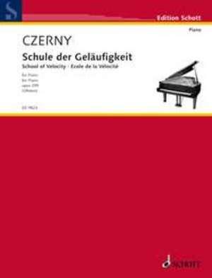 Schule der Geläufigkeit / School of Velocity de Carl Czerny