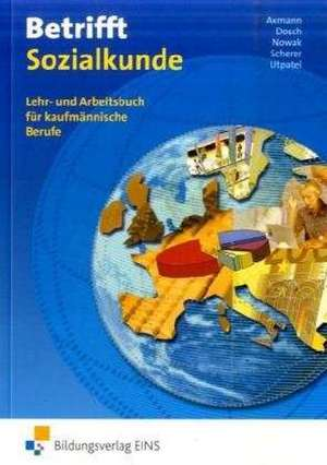 Betrifft Sozialkunde de Alfons Axmann