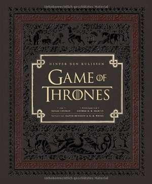 Game of Thrones: Hinter den Kulissen de Bryan Cogman