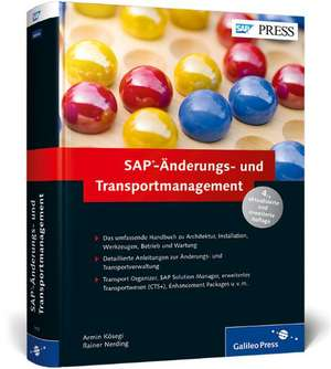 SAP-Änderungs- und Transportmanagement de Armin Kösegi