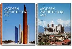 Modern Architecture A-Z de Peter Gossel