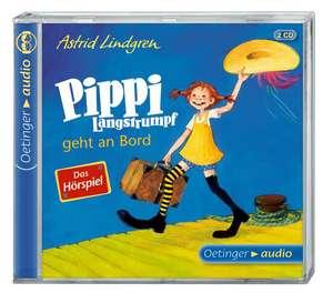 Pippi Langstrumpf geht an Bord - Das Hoerspiel (2 CD)
