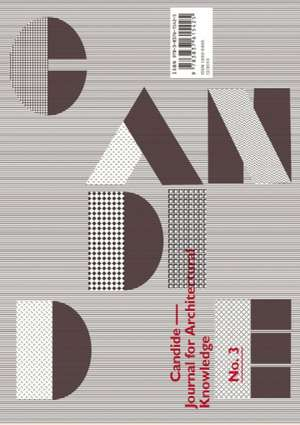 Candide. Journal for Architectural Knowledge Heft 3
