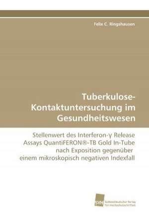 Tuberkulose-Kontaktuntersuchung im Gesundheitswesen