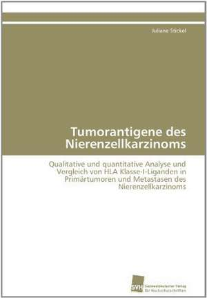 Tumorantigene Des Nierenzellkarzinoms