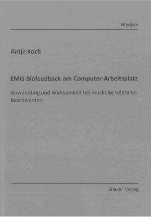 EMG-Biofeedback am Computer-Arbeitsplatz