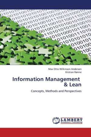 Information Management   & Lean de Andersen Max Otto Wilkinson