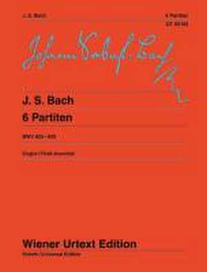 Sechs Partiten de Johann Sebastian Bach
