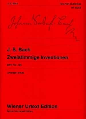 Zweistimmige Inventionen de Johann Sebastian Bach