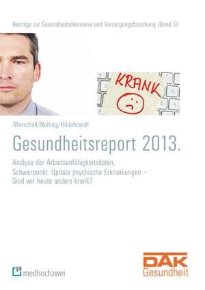 DAK Gesundheitsreport 2013