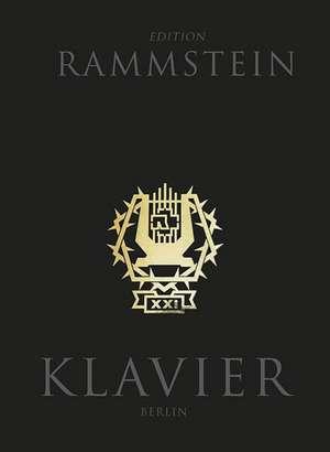 Rammstein: XXI Notenbuch Klavier (Book & CD) de  Rammstein