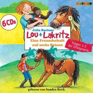 Lou + Lakritz: Eine Freundschaft auf sechs Beinen