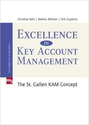 Excellence in Key Account Management de Christian Belz